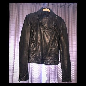 Genuine leather jacket.